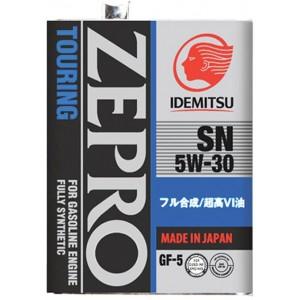 IDEMITSU ZEPRO TOURING   5W30 SN/GF-5